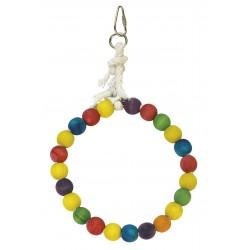 Aro de bolas de colores