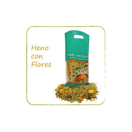 HENO CON FLORES