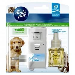 Ambientador Ambipur Pet Care Eléctrico difusor + recambio 80 días