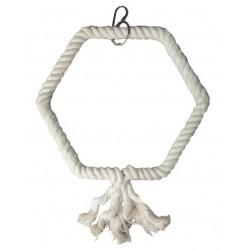 Columpio cuerda hexagonal