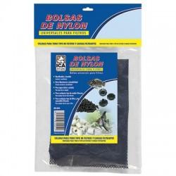 Bolsa filtrante blanca con cremallera