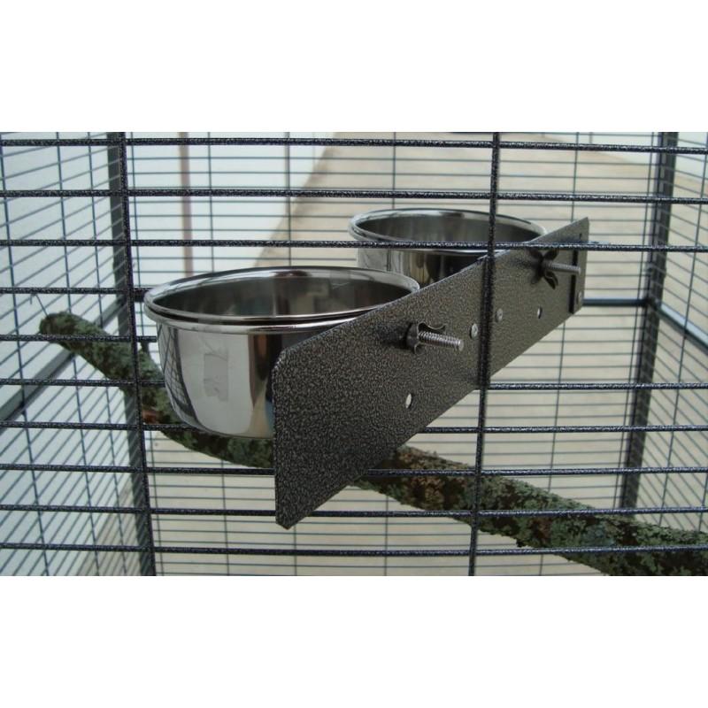 Voladero jardin loro 1 m2 1x1m con techo plano casa del ave - Voladeros de jardin baratos ...
