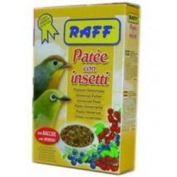 Pasta con insectos