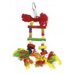 Escalera multicolor sin campana