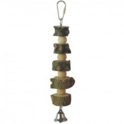 Juguete madera campana