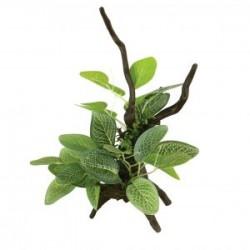 Tronco con plantas S 16'5cm