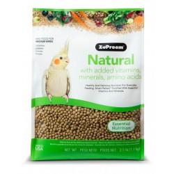 ZUPREEM NATURAL NINFAS Y COTORRAS 1.132 gr.