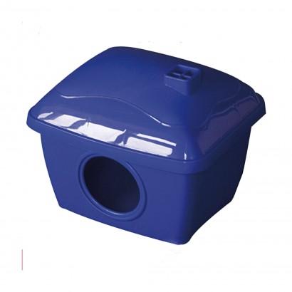 Caseta azul hamster/ratón