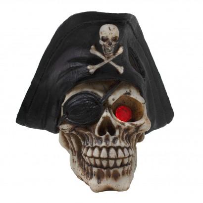 Ornamento calavera pirata